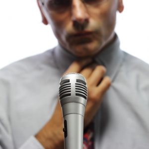 Are you afraid of speaking in public?