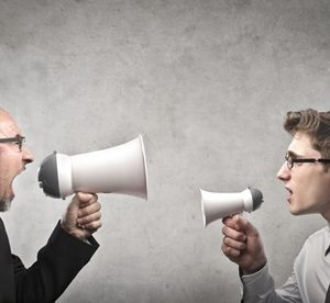 Difficult personalities will often feel the need to be heard above everyone else.