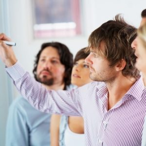 Charismatic leaders motivate and inspire their teams.